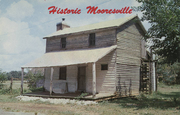 PATRON + Dr. Palmer's Notes  (1883-1884) about Alabama – Mooresville, Blount Springs