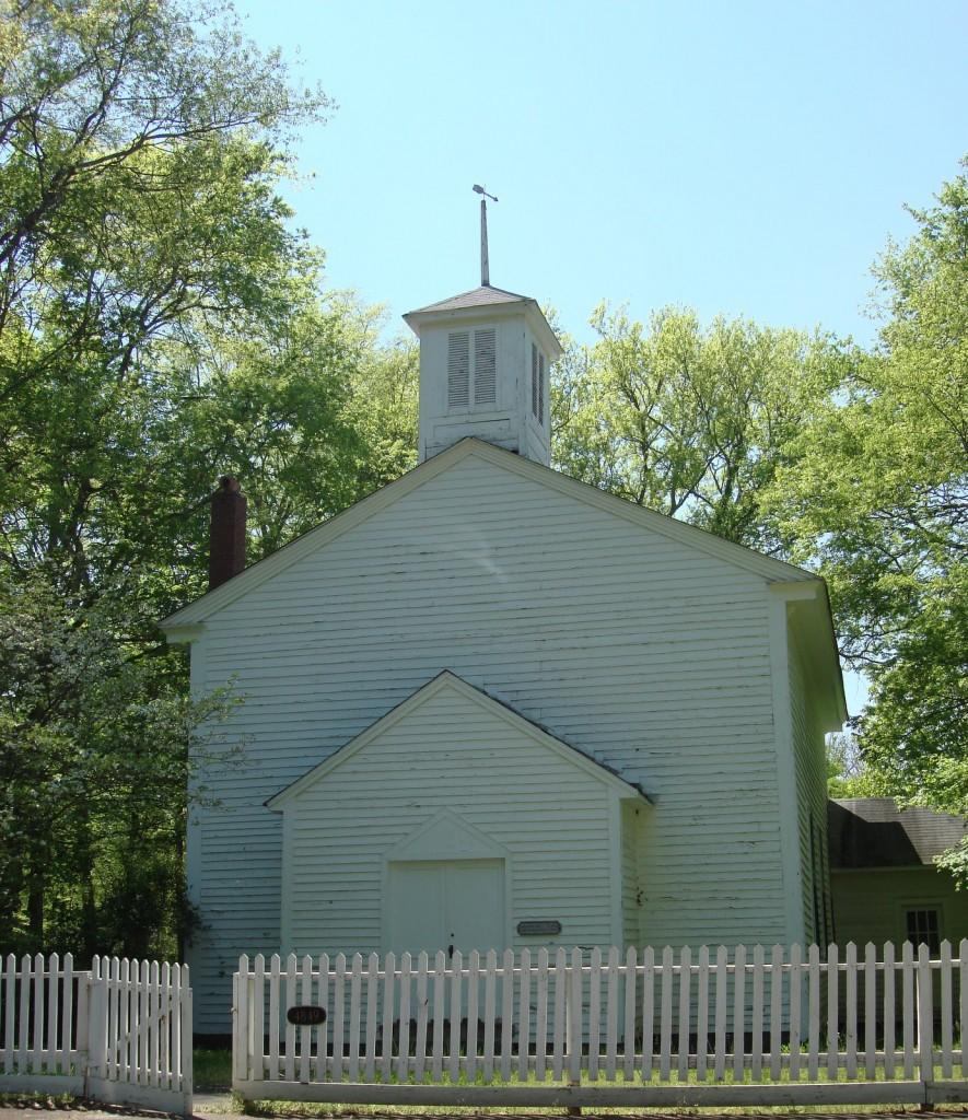 Mooresville, first church of Christ garfield