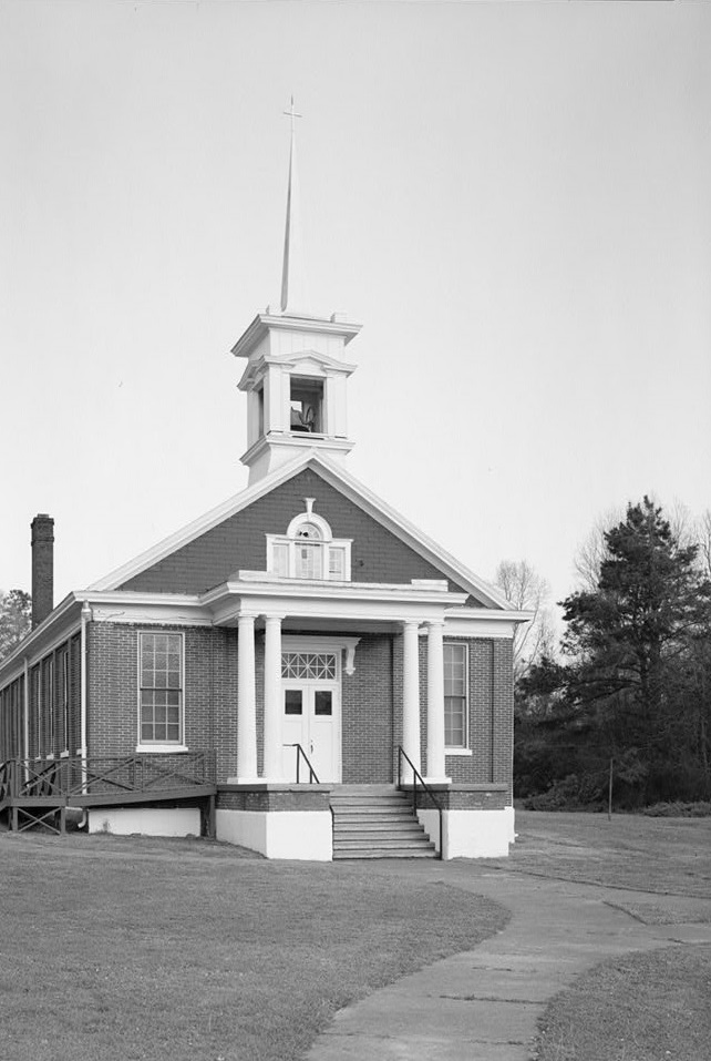 Mulga - Company Church, Off New Mulga Loop Road (Junction 80), Birmingham, Jefferson County, AL ca. 1940
