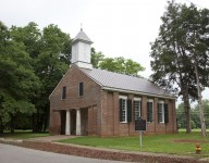 Several religious denominations met in the same church in Limestone County, Alabama