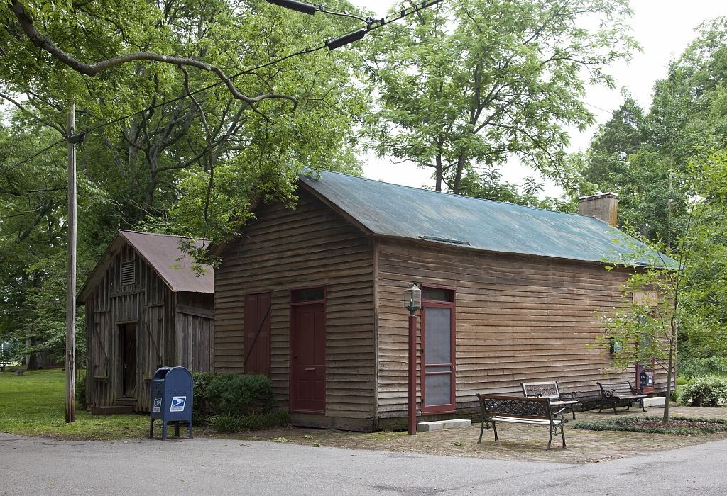 Post office, Mooresville, Alabama 2010 by photographer Carol Highsmith