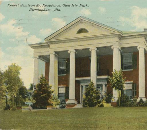Robert Jemison, Sr. residence in Glen Iris Park, Birmingham, Alabama ca. 1910