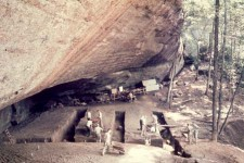 Is Stone Age man buried in the earth of Colbert County, Alabama?