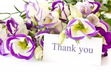 Thank you! Thank you! Thank you!
