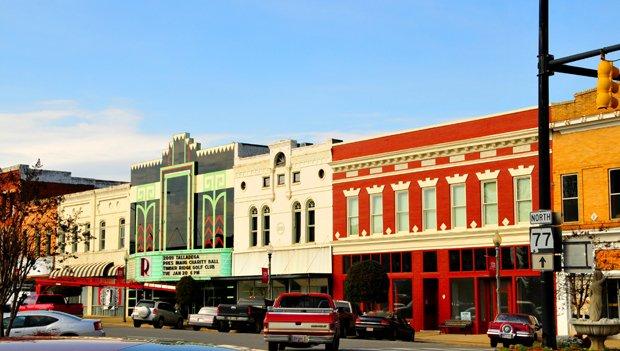 downtown talladega