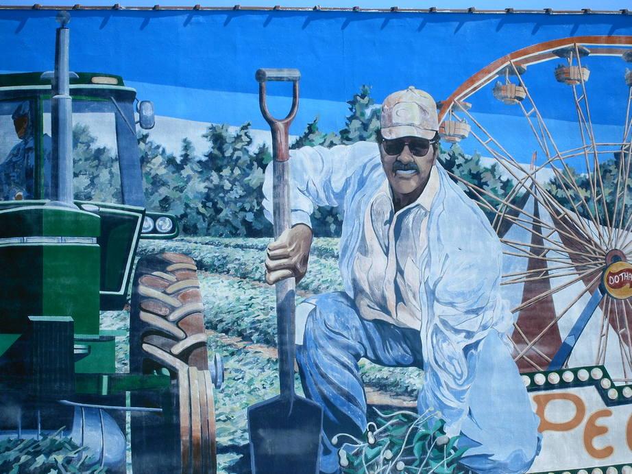 george washington carver mural
