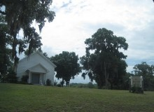 The small historic community of Batesville, Alabama had four churches for 400-500 residents