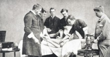 In 1902 the first open heart surgery was performed in Montgomery by Dr. Luther Leonidas Hill