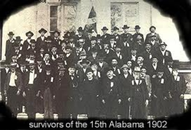 survivors of the 15th Alabama 1902