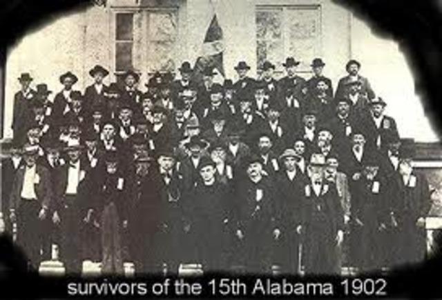 survivors of the 15th Alabama 1902