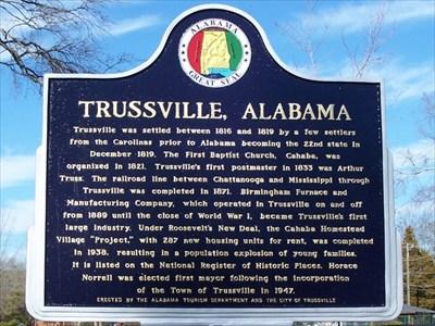 trussville marker