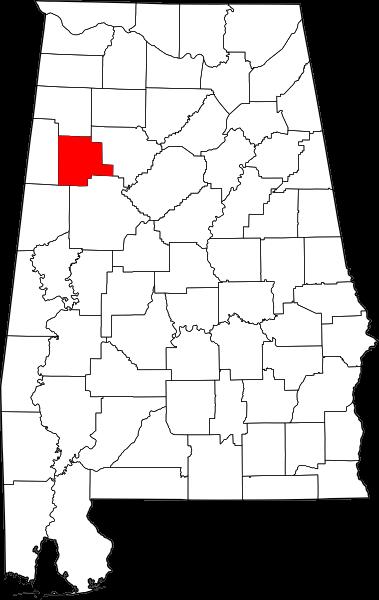 Fayette-map