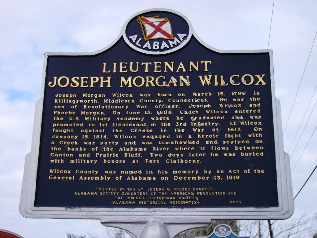 Lt. Joseph Morgan Wilcox