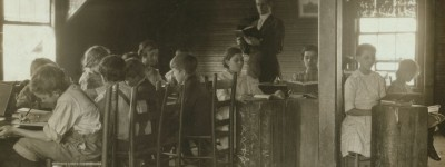One-room schoolhouses were popular in early Alabama as these photographs indicate