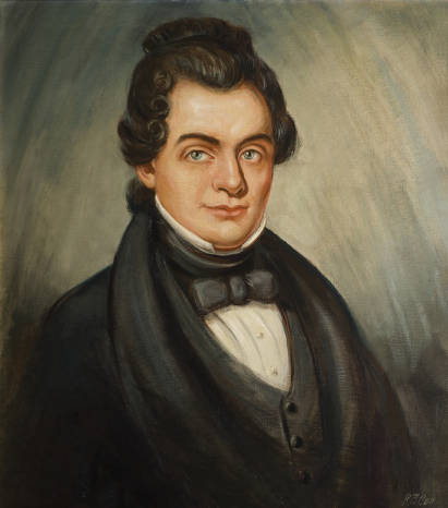 Official portrait of Joshua Lanier Martin, twelfth governor of Alabama.