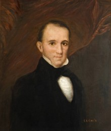 PATRON + The inauguration of Governor Bagby was dignified and proper in 1837