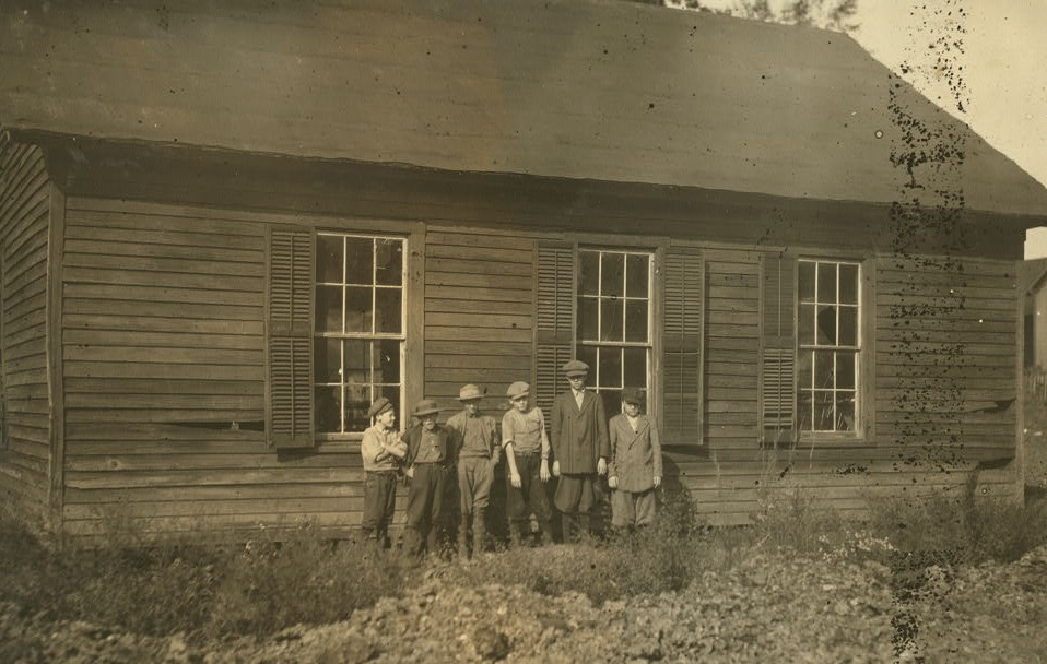 The Mill School at Anniston Dec. 1914 Lewis Wickes Hine