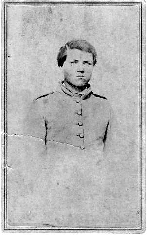 Van B. Wilson (Pvt. Co. D) son of Burr Wilson