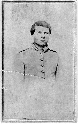 Van B. Wilson (Pvt. Co. D) son of Burr Wilson