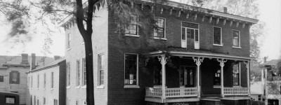 The old Pickett House  of Albert J. Pickett is now home to the Montgomery County Historical Society