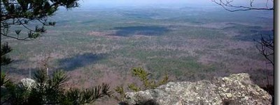 The highest point in the State of Alabama is in Cleburne County, Alabama