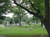 Stroll through the haunted Maple Hill Cemetery in Huntsville, Alabama and visit the dead [film and photographs]