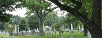 Stroll through the haunted Maple Hill Cemetery in Huntsville, Alabama and visit the the famous people buried there [film and photographs]