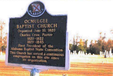 ocmulgee baptist sign