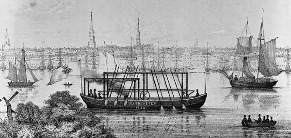 steamship 1818