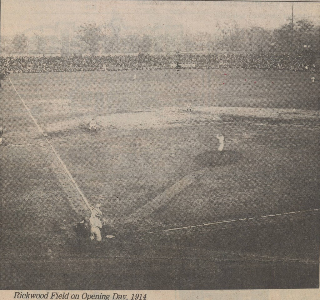 1914 opening game (The Birmingham News File Photos from Birmingham Library)