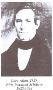 Allan, John Allan DD 1823