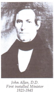 Biography: Rev. John Allan born April 21, 1788 – photograph