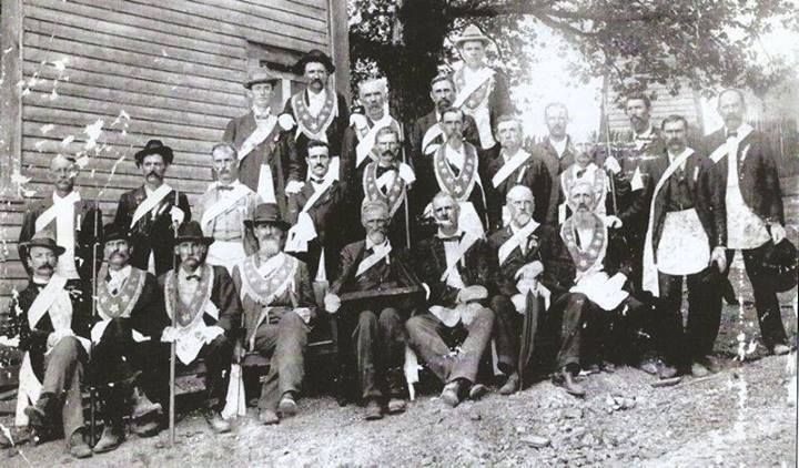 Group from Springville, Alabama - Civil War Masons (pinterest)