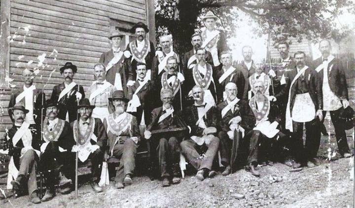 Group from Springville, Alabama - Civil War Masons (pinterest)
