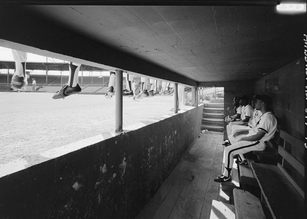 INTERIOR VIEW OF DUGOUT