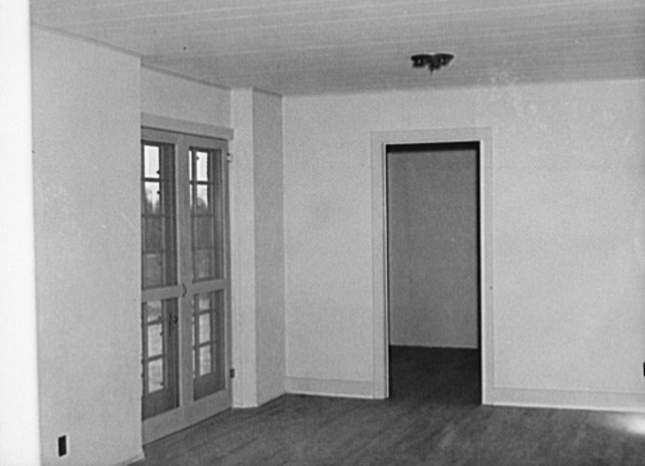Interior of house at Gardendale, Alabama