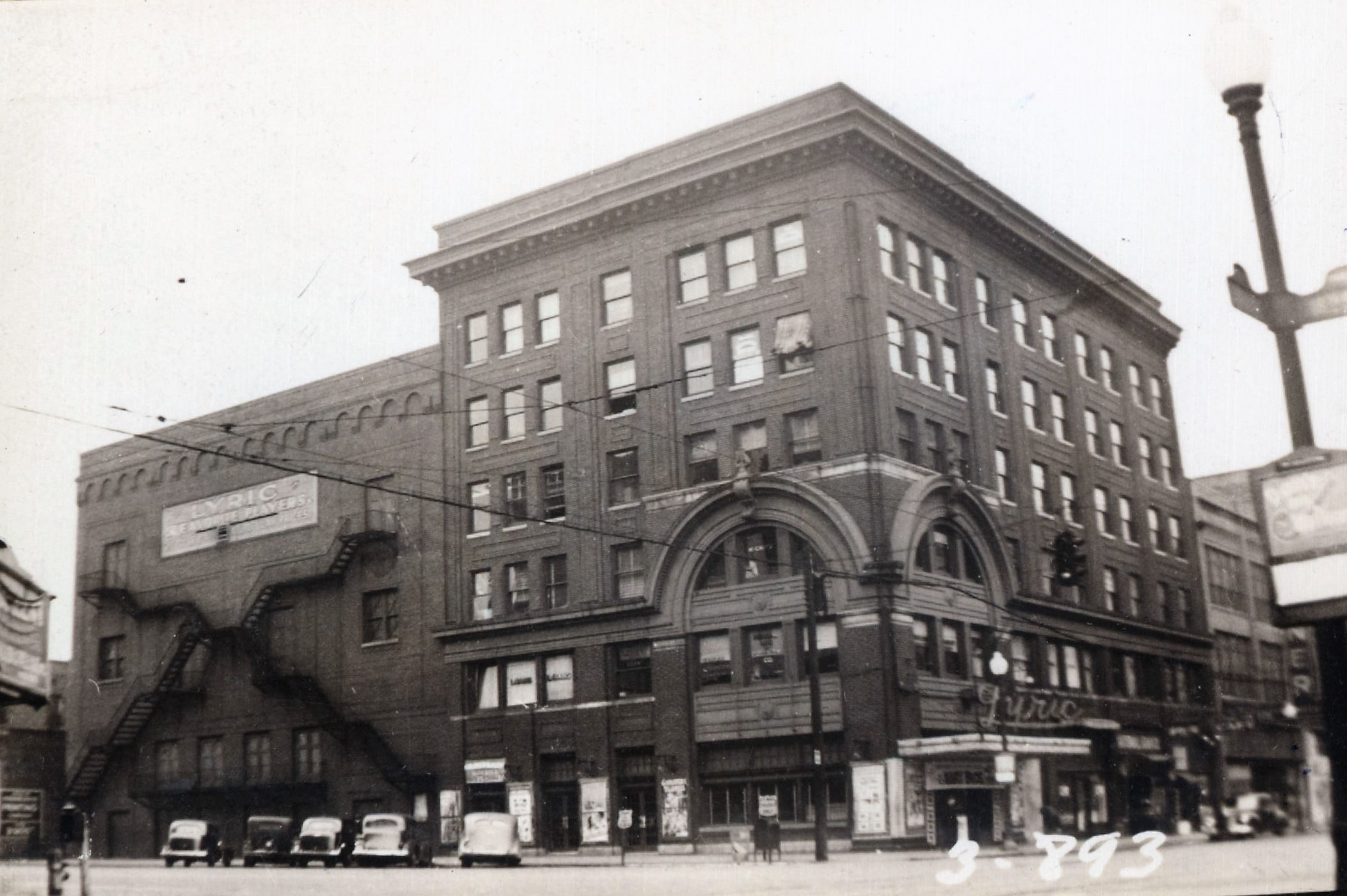 Lyric Theater ca. 1938 (Birmingham Public Library)