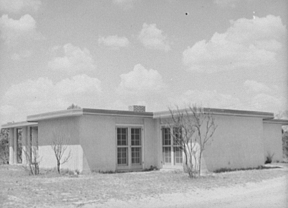 Rammed earth house at Gardendale, Alabama3 march 1937