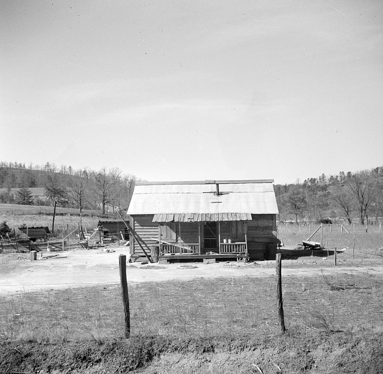 Type of house which is being replaced by new well-built farmsteads of Palmerdale, Alabama2
