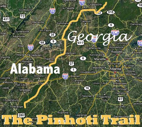 pinhoti Trail system
