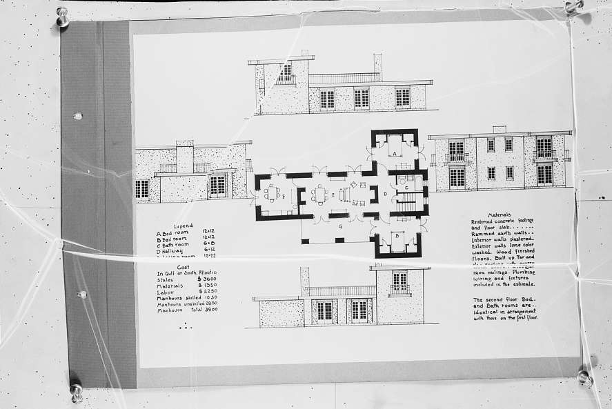 plan4-of-rammed-earth-house Rammed Earth Tiny House Plans on tiny prefab house plans, tiny stucco house plans, tiny house house plans, tiny timber frame house plans, tiny passive house plans,