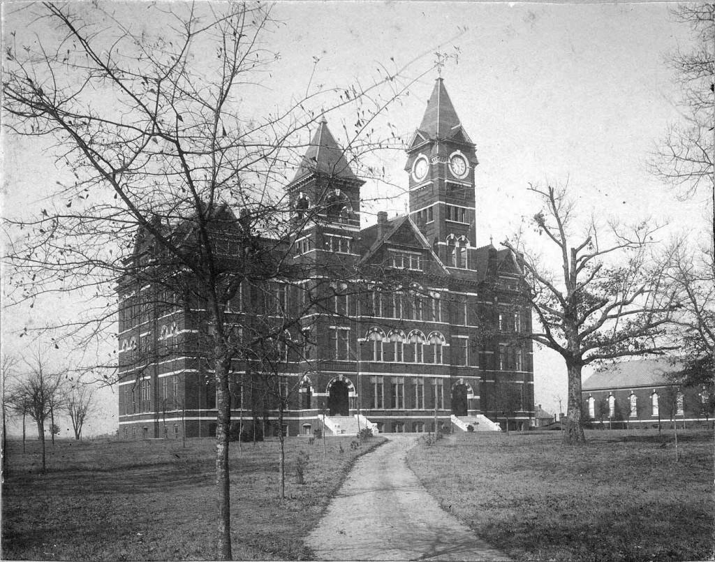 1890s Samford Hall Auburn Alabama (Auburn Digital library)