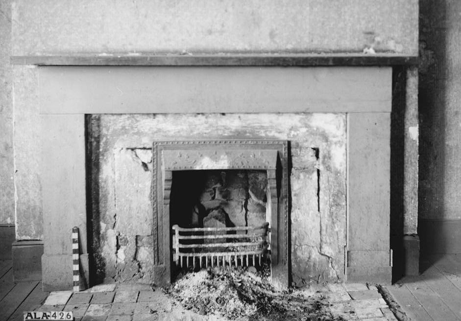 Alex Bush, Photographer, March 4, 1937 MANTEL ON EAST WALL OF N. E. ROOM - Benjamin Pinckney Worthington House, Sixth Avenue South, Birmingham, Jefferson County, AL