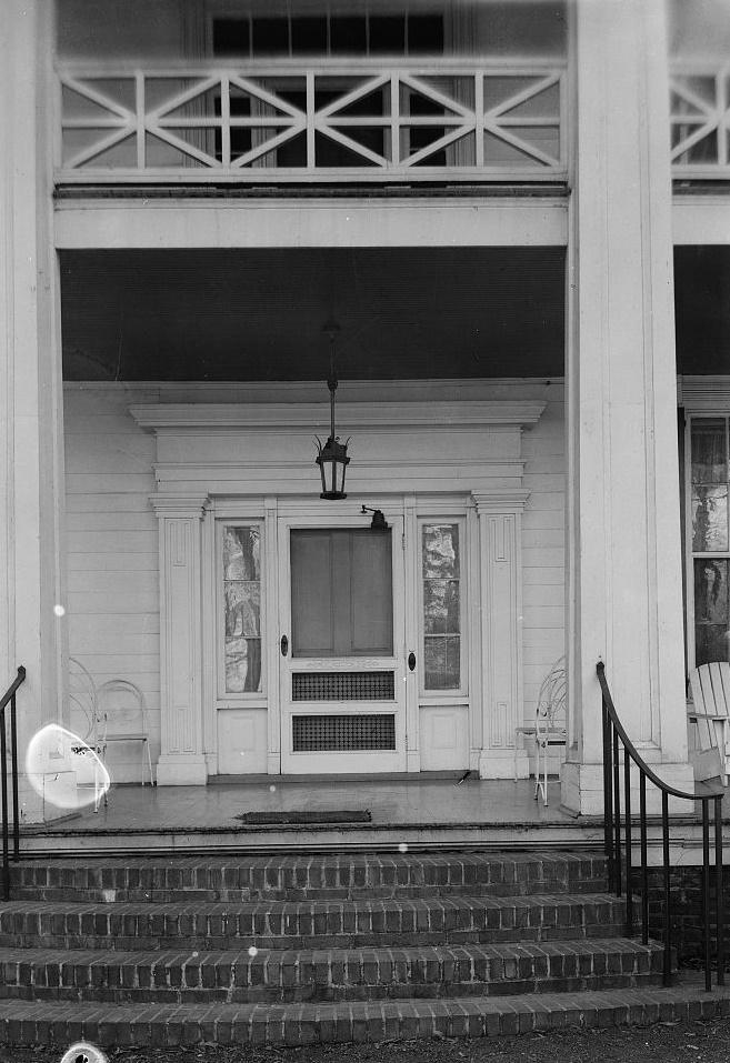 Arlington - Alex Bush, Photographer, March 4, 1937 CLOSE-UP OF MAIN ENTRANCE - Arlington Place, 331 Cotton Avenue, Southwest, Birmingham, Jefferson County, AL