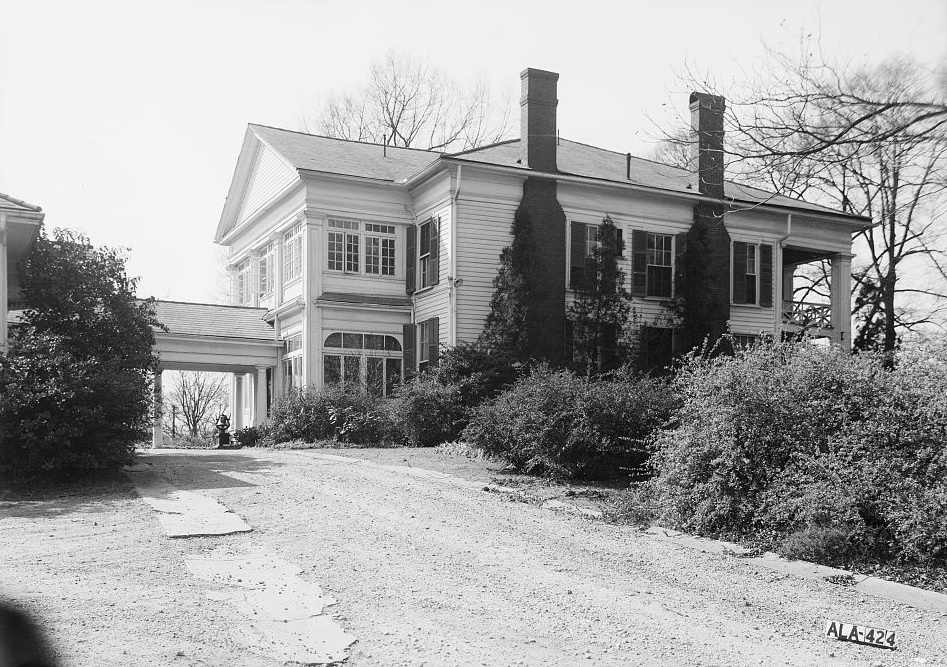 Arlington - Alex Bush, Photographer, March 4, 1937 EAST ELEVATION OF MAIN BUILDING - Arlington Place, 331 Cotton Avenue, Southwest, Birmingham, Jefferson County, AL