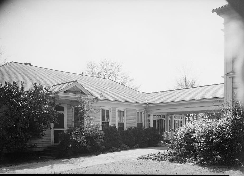 Arlington - Alex Bush, Photographer, March 4, 1937 FRONT ELEVATION DINING ROOM AND KITCHEN - Arlington Place, 331 Cotton Avenue, Southwest, Birmingham, Jefferson County, AL
