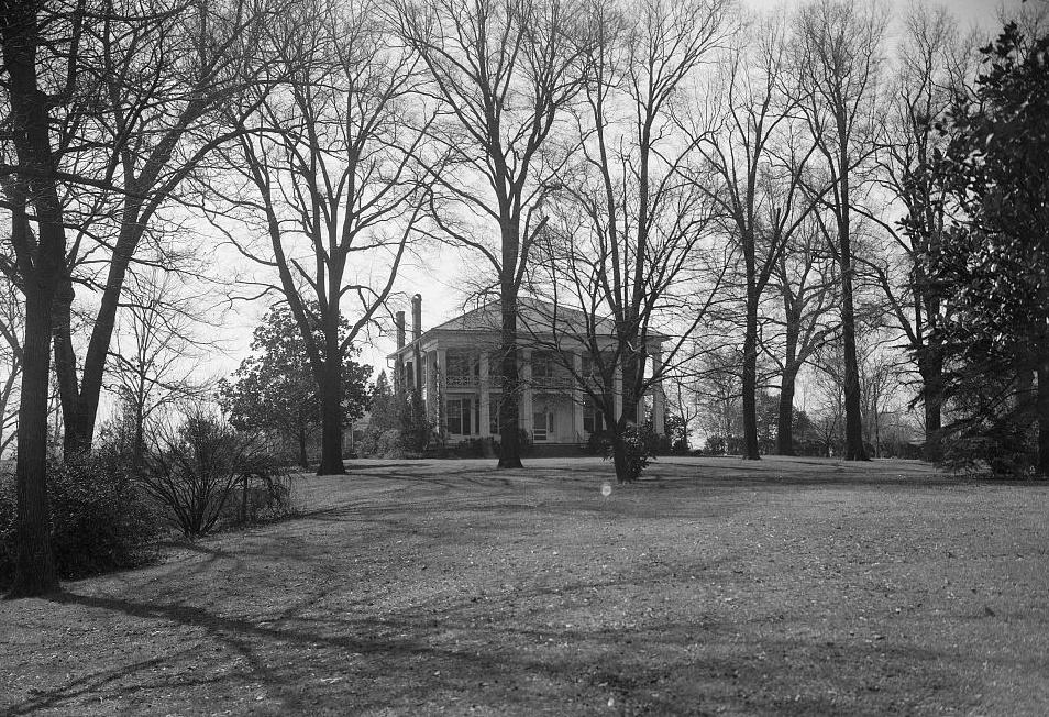 Arlington - Alex Bush, Photographer, March 4, 1937 FRONT ELEVATION (GENERAL VIEW) - Arlington Place, 331 Cotton Avenue, Southwest, Birmingham, Jefferson County, AL