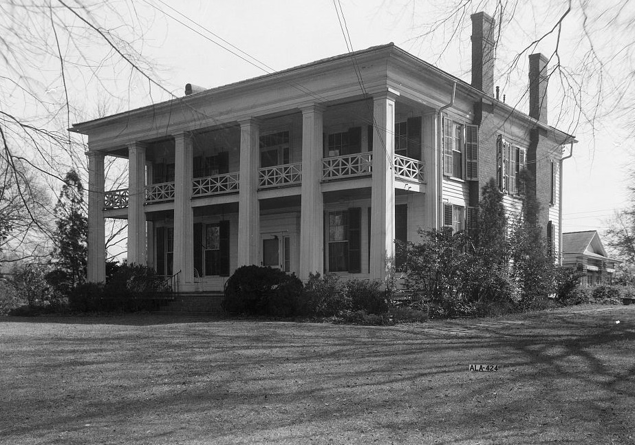 Arlington Alex Bush, Photographer, March 4, 1937 FRONT (NORTH) AND WEST ELEVATION - Arlington Place, 331 Cotton Avenue, Southwest, Birmingham, Jefferson County, AL