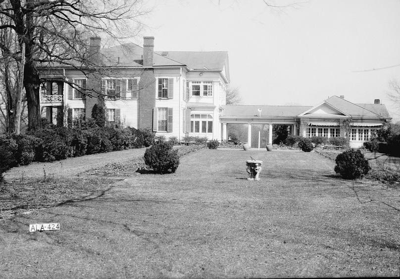 Arlingtonn - Alex Bush, Photographer, March 4, 1937 WEST ELEVATION (GENERAL VIEW) - Arlington Place, 331 Cotton Avenue, Southwest, Birmingham, Jefferson County, AL