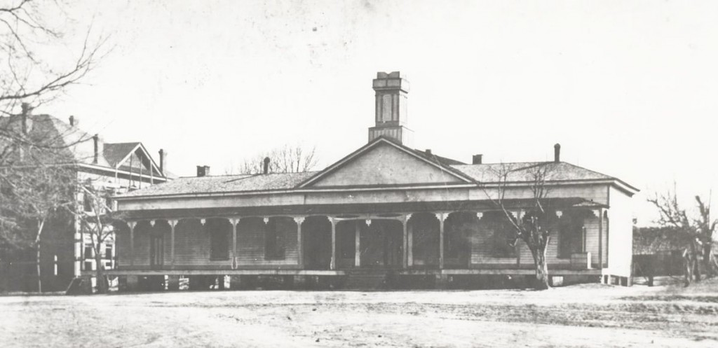 Auburn High School 1870 - served as W. F. Slaton's Academy and preparatory school for East Alabama Male College and Auburn High School.